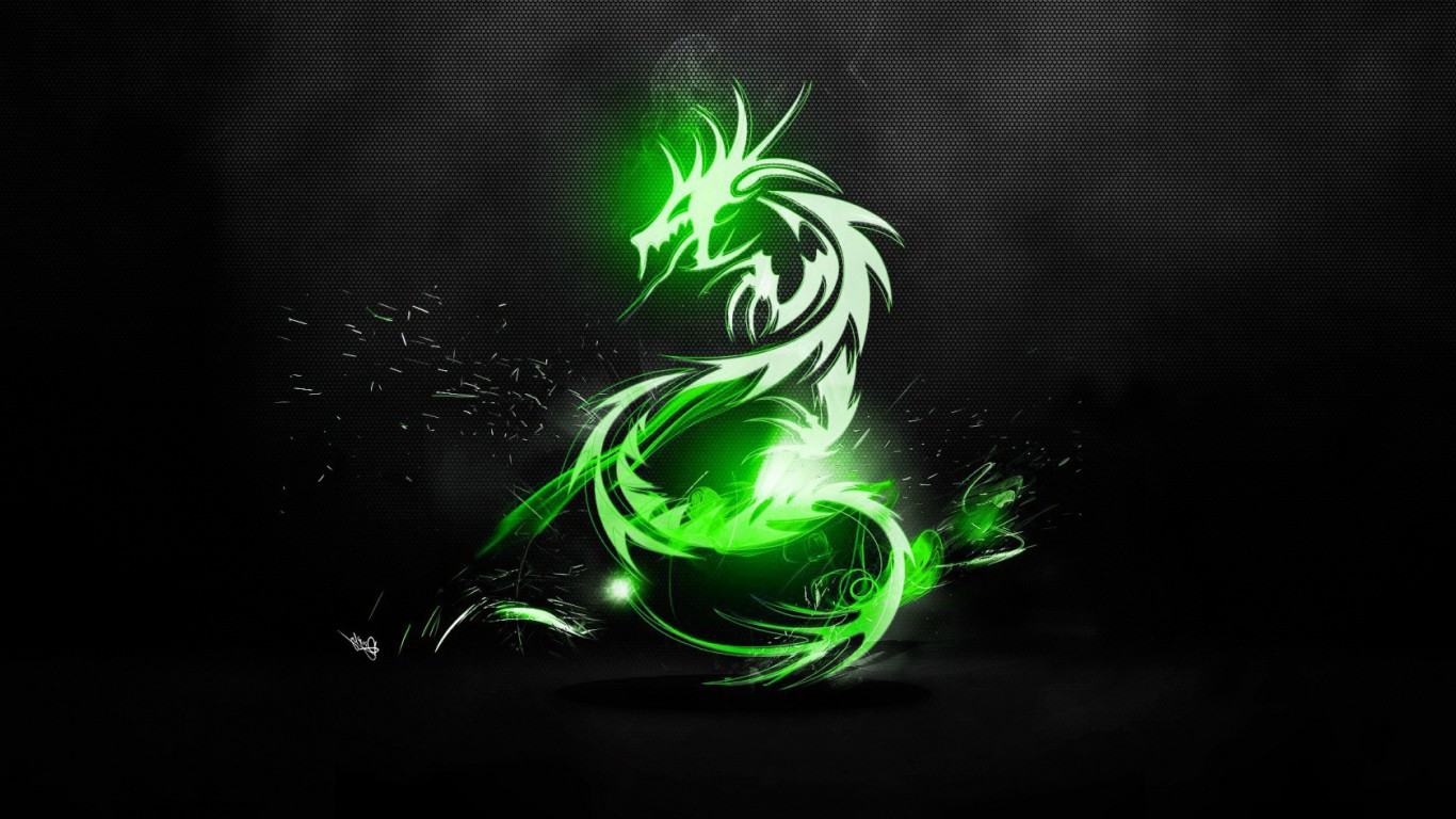 Green-Dragon-Wallpaper