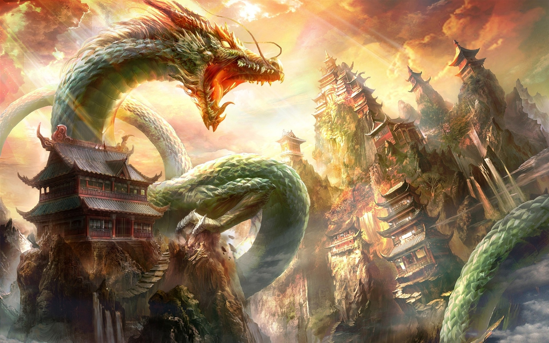 Chinese-Dragon Wallpaper