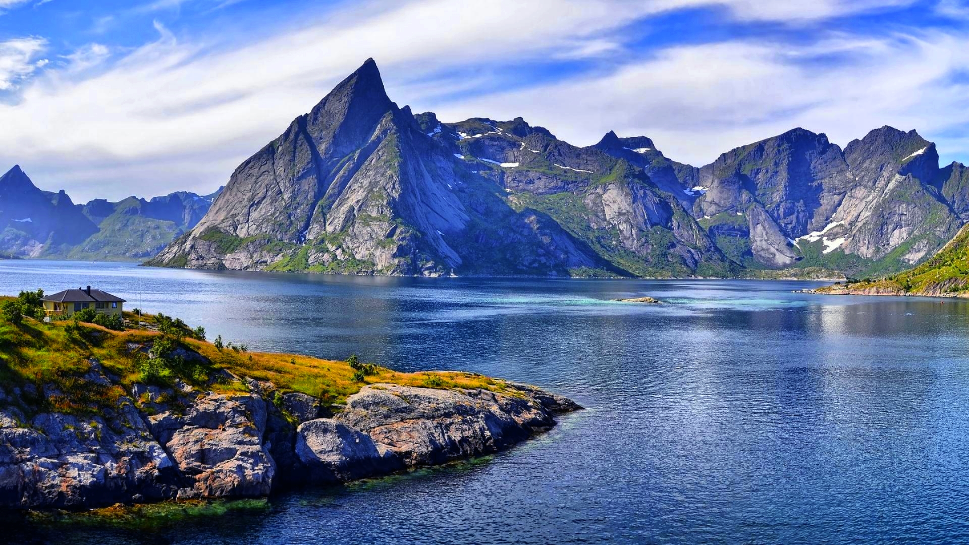Mountain Nature HD Wallpaper For PC