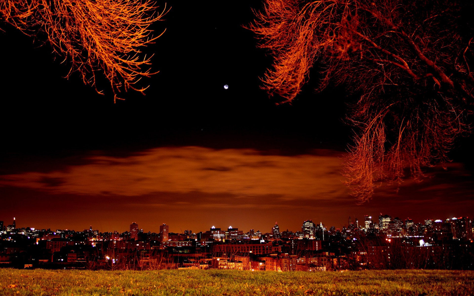 Cool Night HD Wallpaper For Iphone