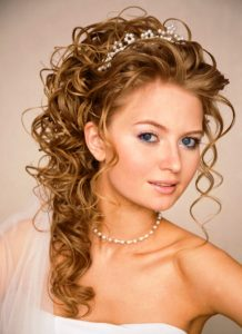 bridal hairstyle for engagement