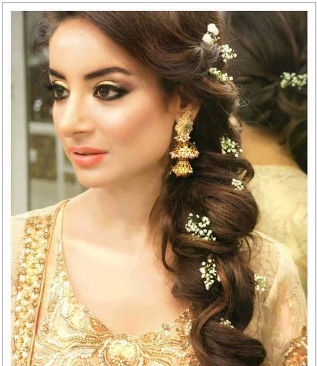 Bridal Hairstyle Hd Images : Top most beautiful indian wedding bridal hairstyles for