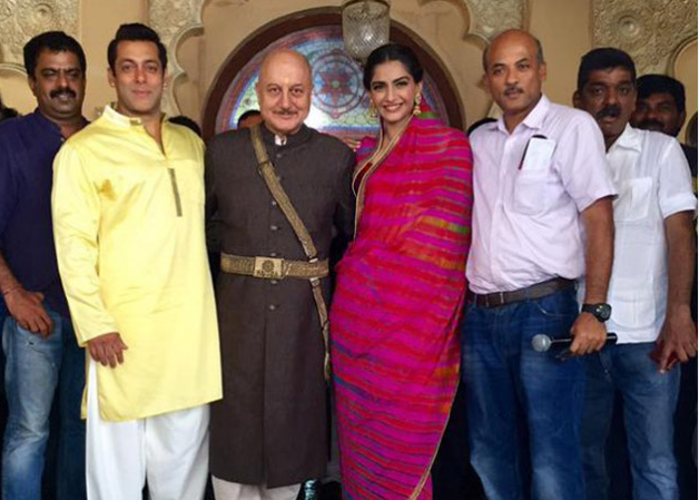 on the sets of prem ratan dhan payo