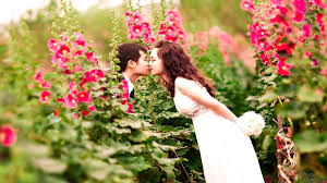 cute couple kissing images