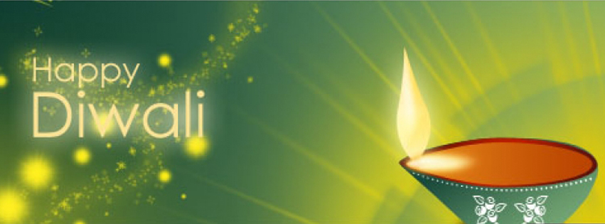 happy diwali facebook cover photo