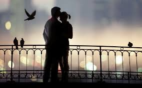 lovers at sunset images