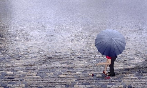 couple in rain images