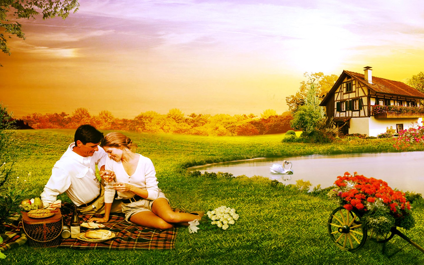 ... through these Beautiful Romantic Love Couple Images Wallpapers