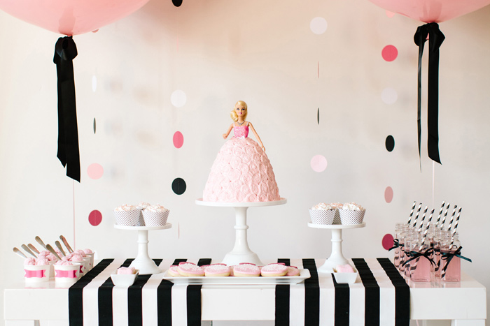 barbie doll cake images