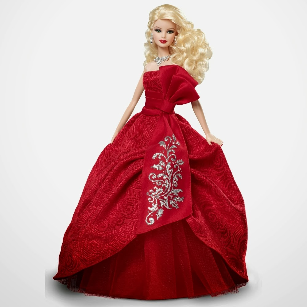 barbie in red gown wallpapers