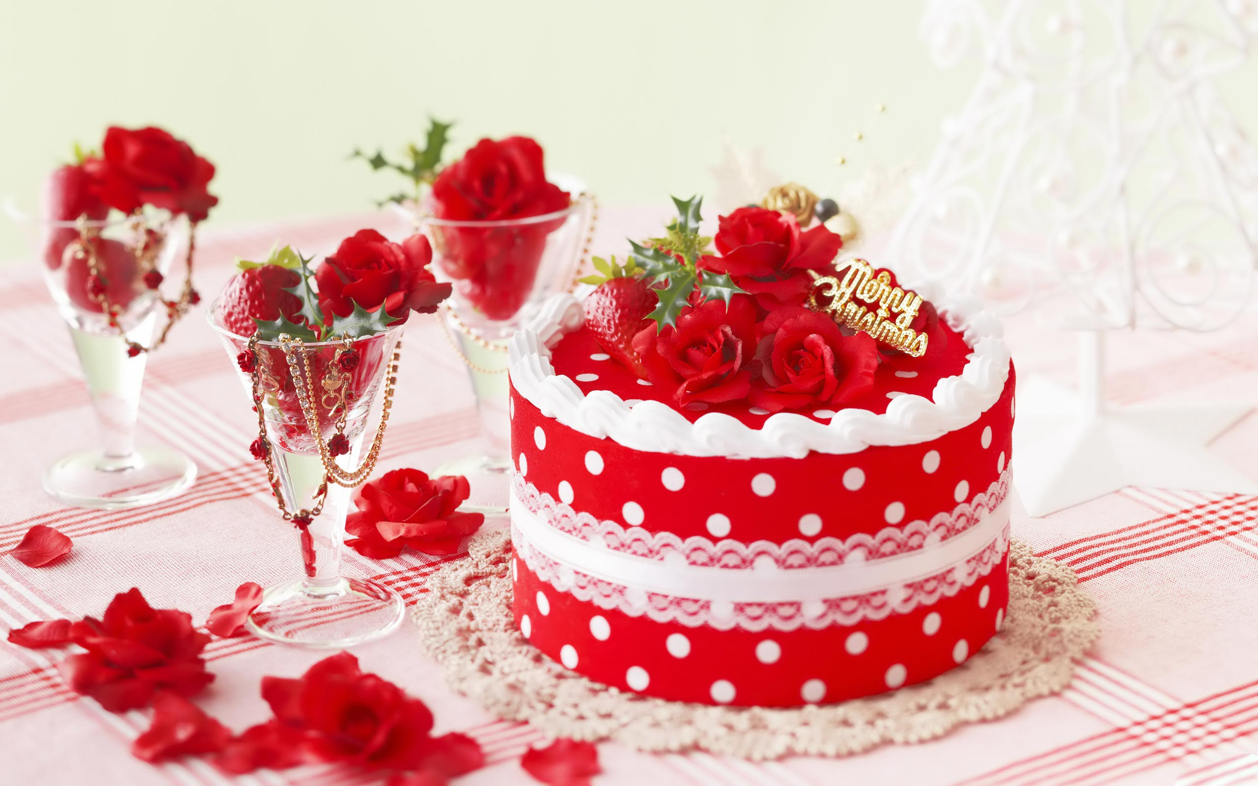 Christmas day cake images