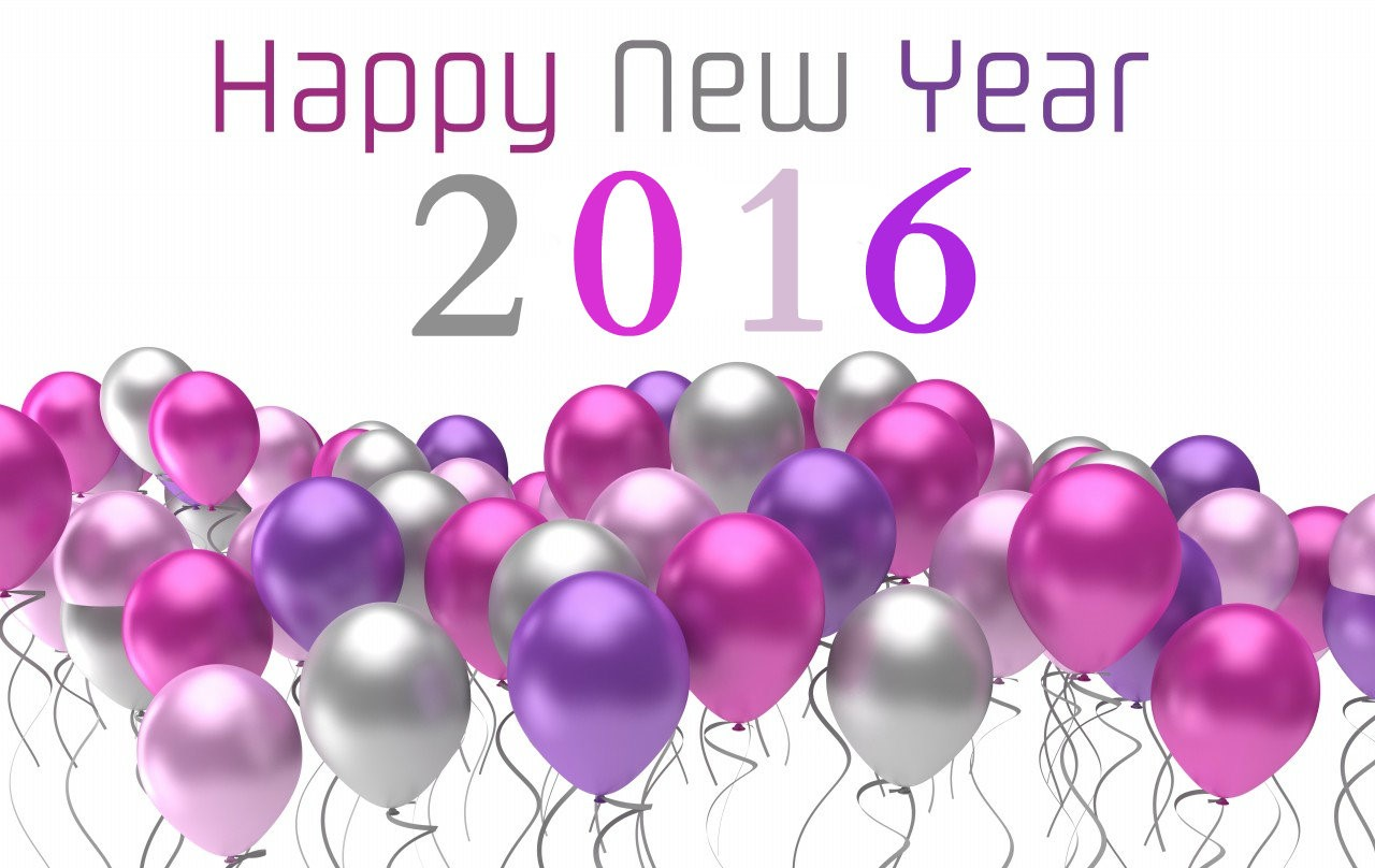 happy new year balloons wallpapers