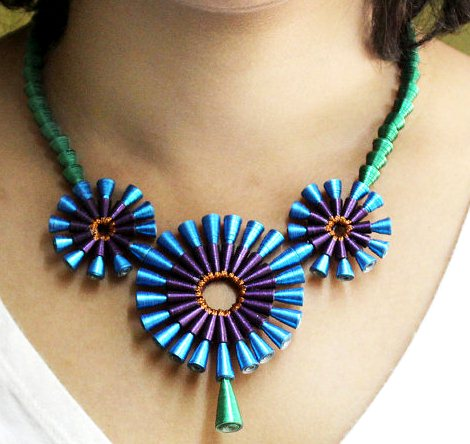 Latest Beautiful Easy Paper Quilling Jewellery Designs Images Photos Collection