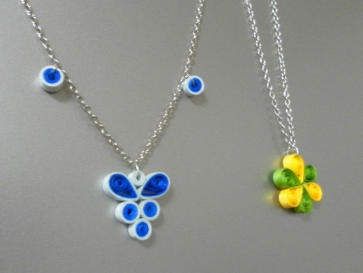 Latest beautiful easy paper quilling jewellery designs for How to make your own quilling paper