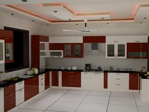 Top 10 best indian homes interior designs ideas for Kitchen design images india