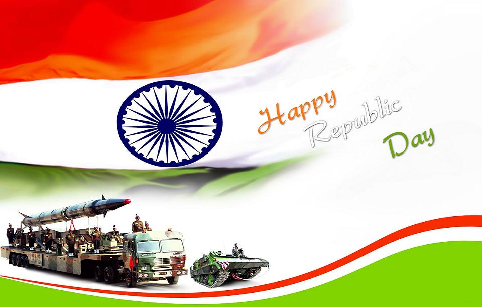 Happy Republic Day Wishes Images HD
