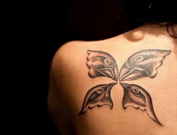 Top 100 best tattoo designs for girls and women for Feminine shoulder tattoos