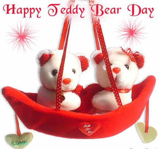 happy teddy bear day messages in hindi
