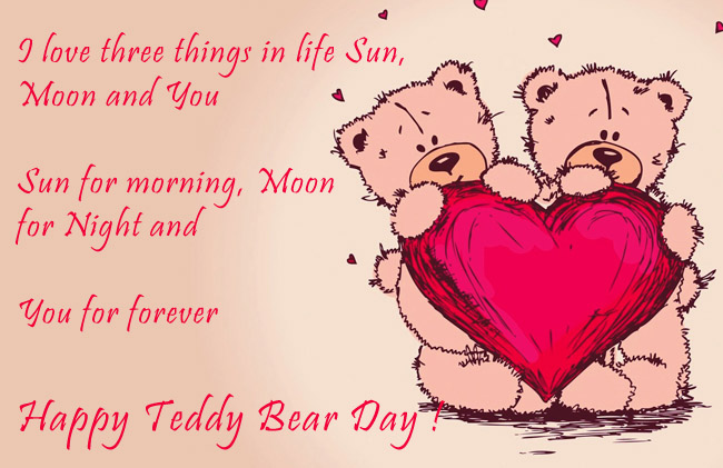 teddy bear day love images