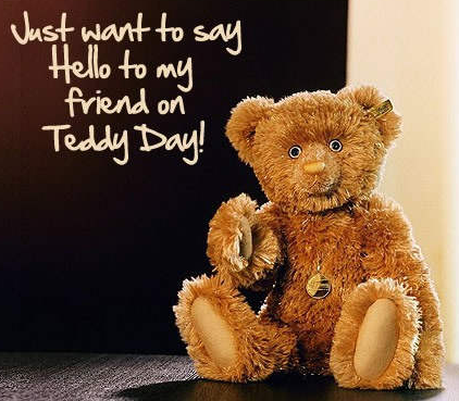 teddy bear day quotes images