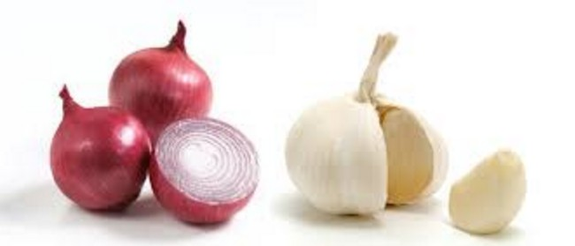 Onion and Garlic juice