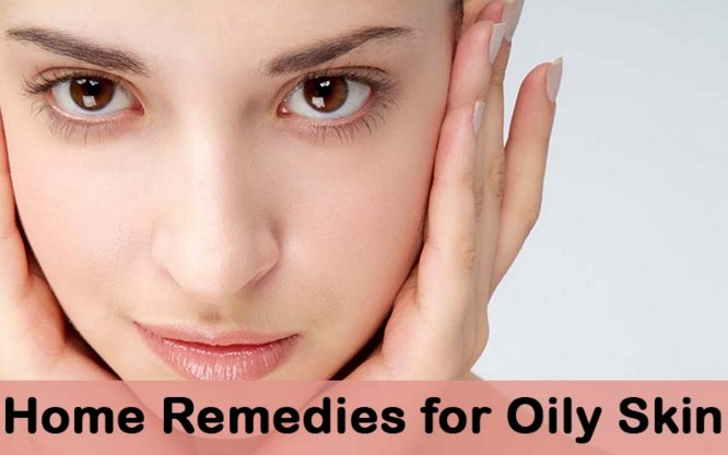 how to clear oily skin at home