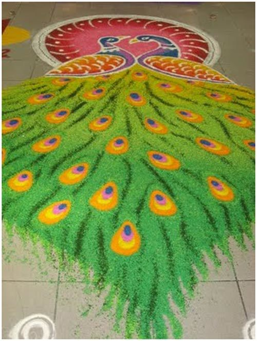 peacock-rangoli-designs-for-kids