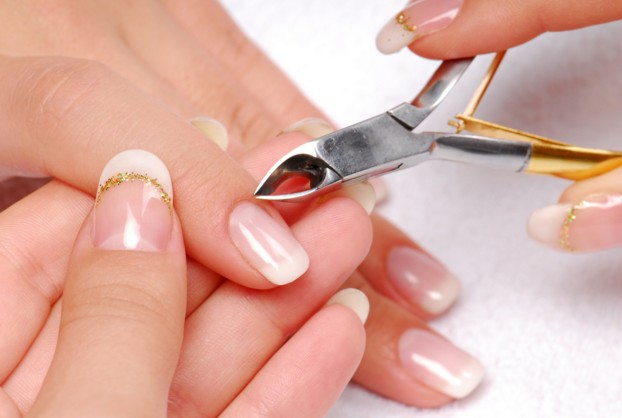 clean and trim yuor nails