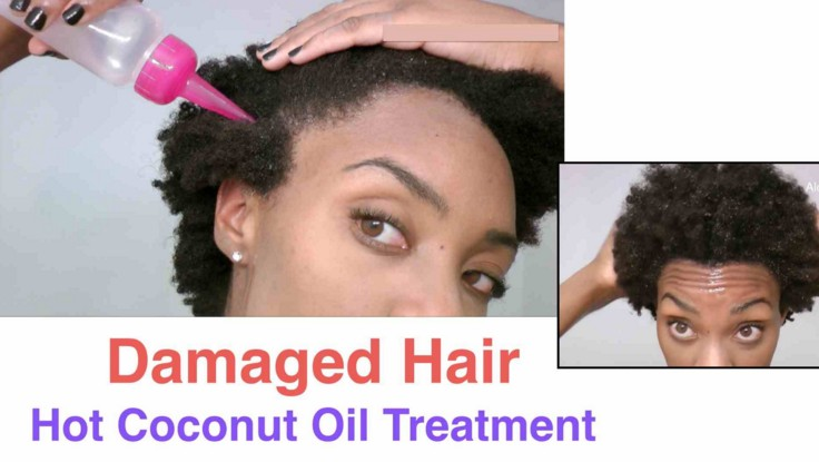 Coconut oil for hairs