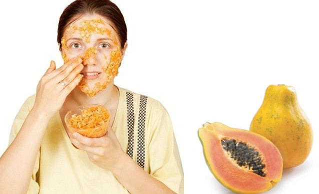 Papaya for the removable for the freckles