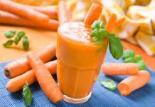 health benefits of carrot juice