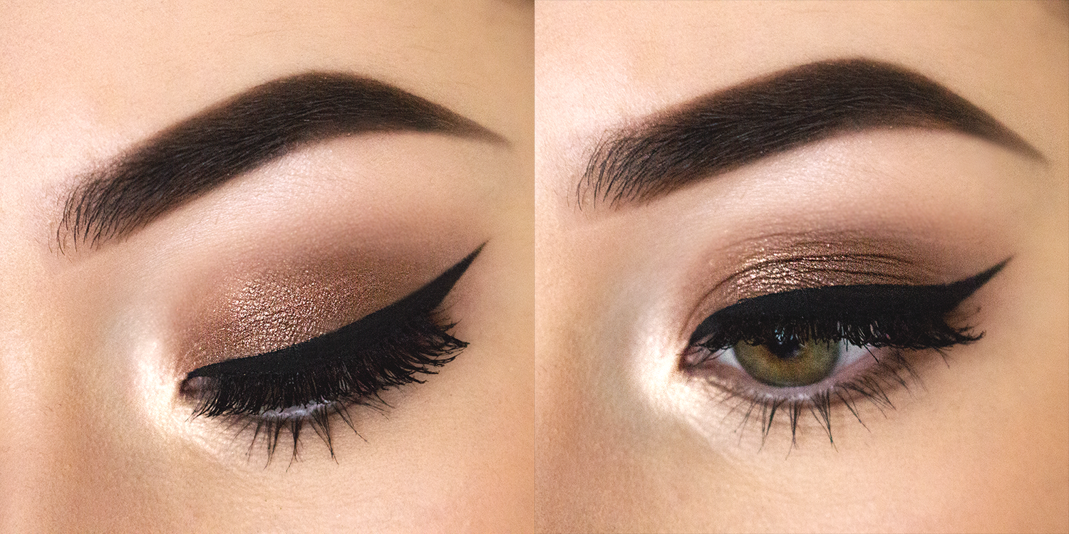 bronze eye make up images