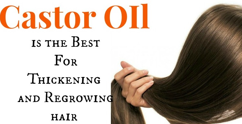 Castor Oil For Thicken Hairs