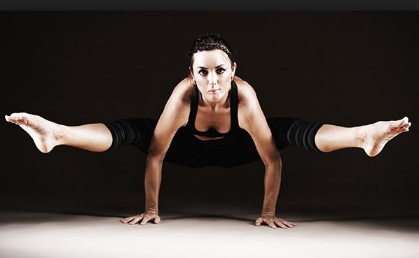 Fire Fly Pose For Weight Loss