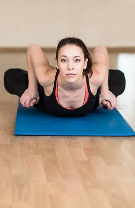 Frog Pose For Weight Loss