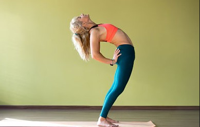 Half Wheel Pose For Weight loss