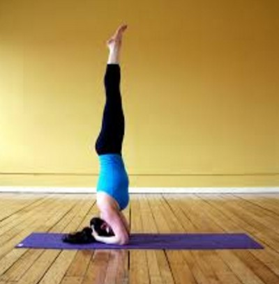 Headstand Pose For Weight Loss