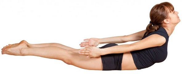 Locust Pose For Weight Loss