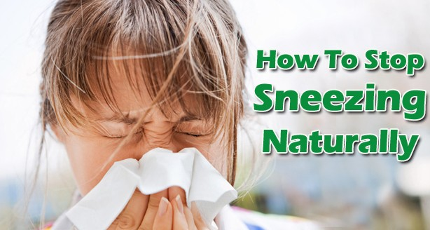 Natural Home Remedies To Stop Sneezing