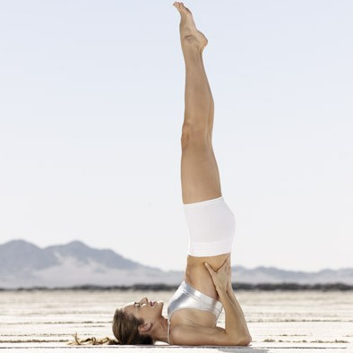 Shoulder Stand Pose For Weight L