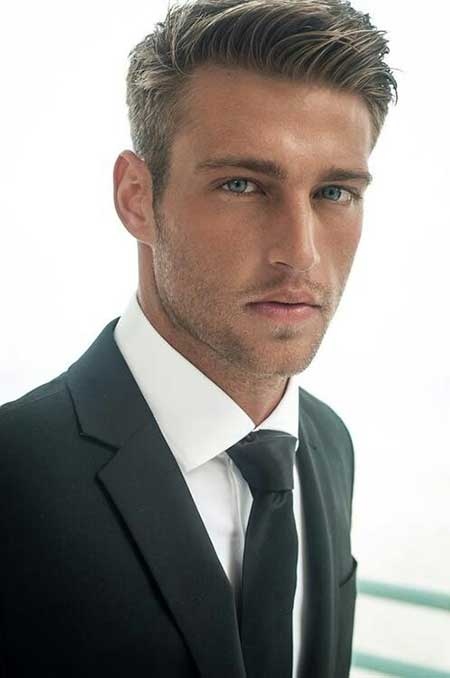 Side Swept Comb Over Hairstyle Short Hairstyles For Men New Hairstyles for Men