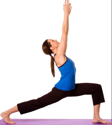 Warrior Pose For Weight Loss