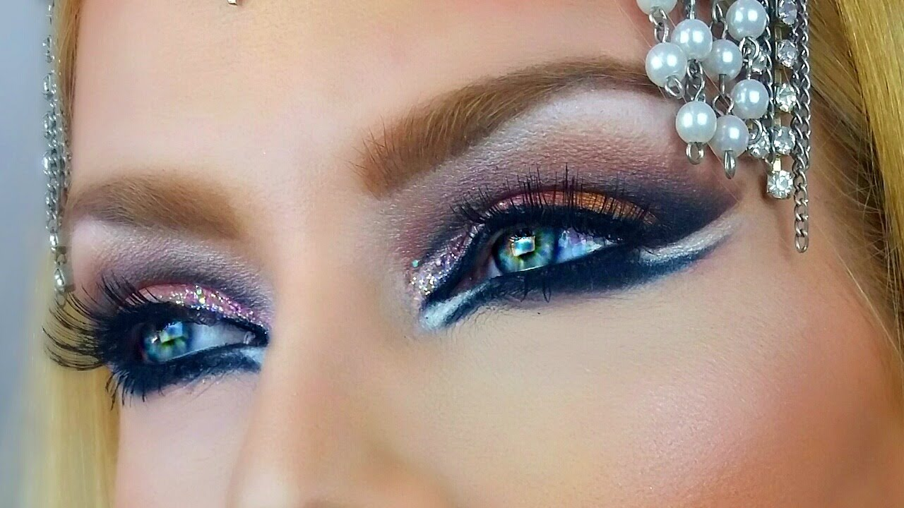 arabic eye make up images