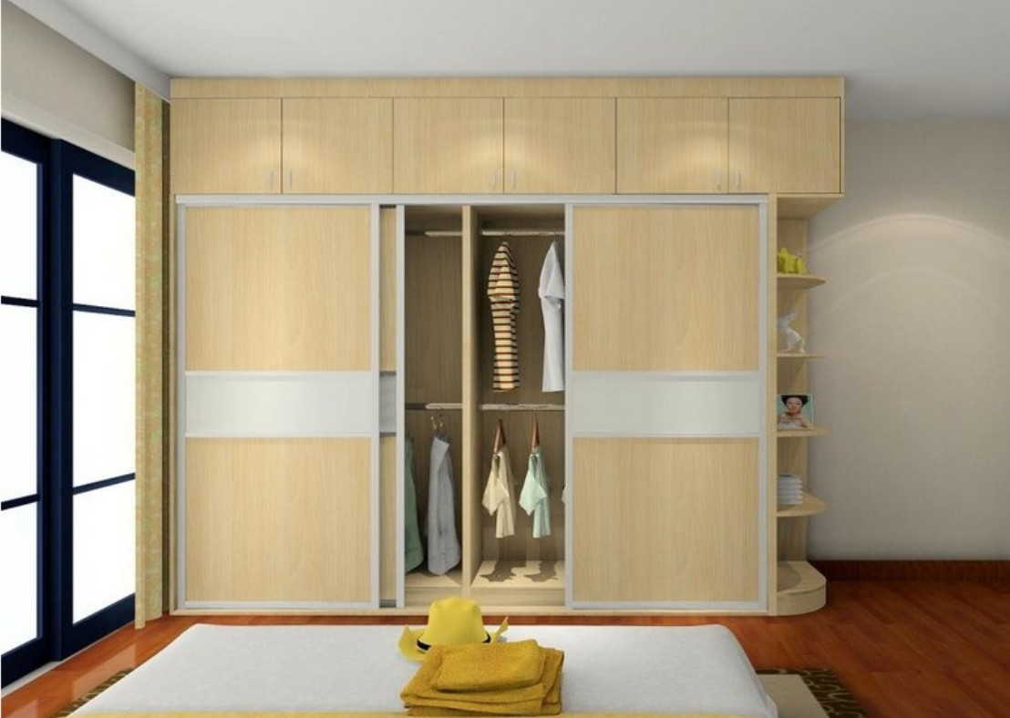 35 images of wardrobe designs for bedrooms for Simple and sober bedroom designs