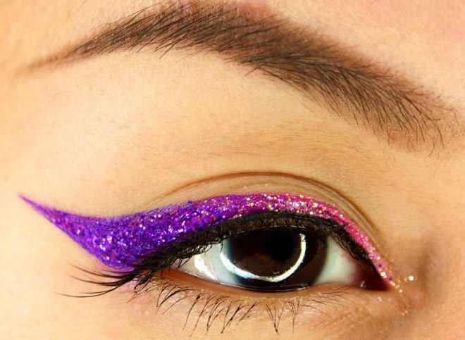cat look eye make up
