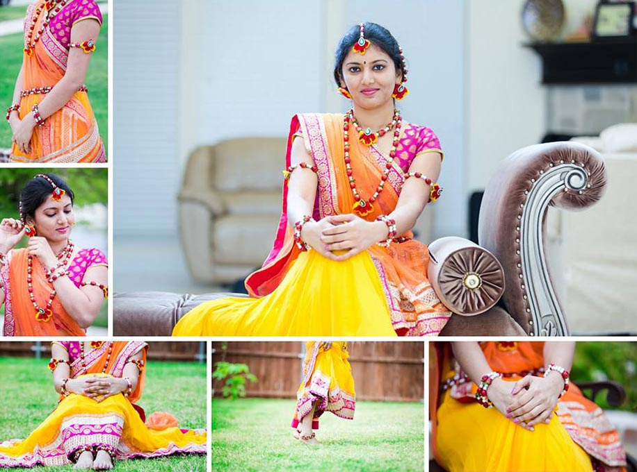 Beautiful Flower Jewellery Designs For Indian Brides