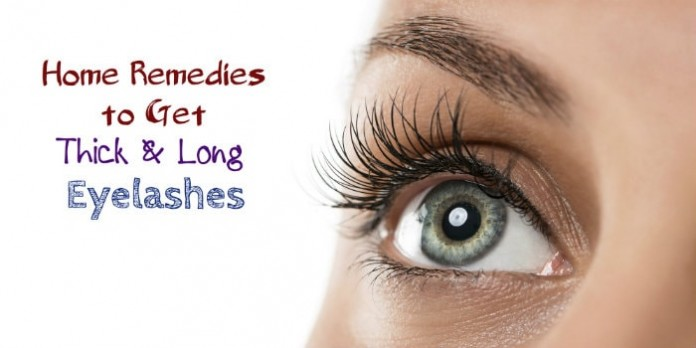 natural way to get thicker eye lashes