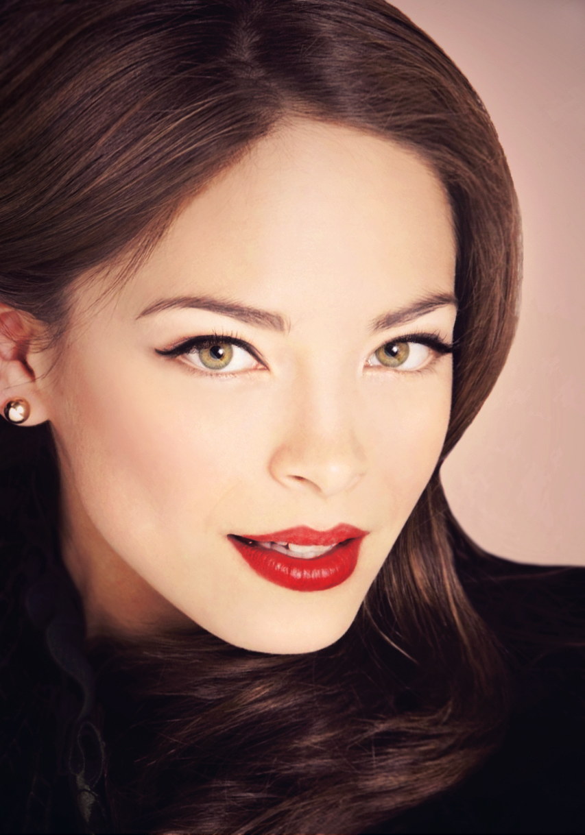 kristin kreuk Gorgeous eyes Pretty face Beautiful eyes