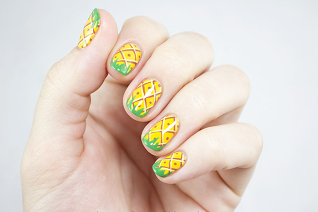 pineapple for nail care