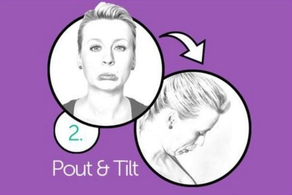 pouting Exercises To Get Rid Of Double Chin